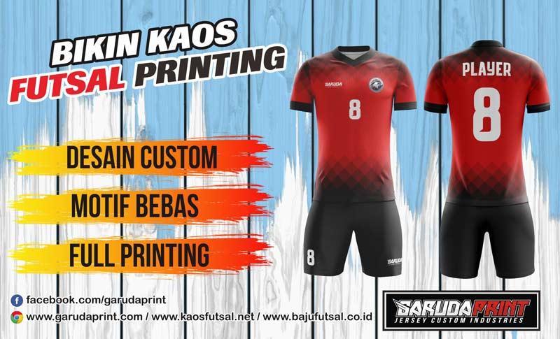 Bikin Kaos Futsal Bola Perusahaan
