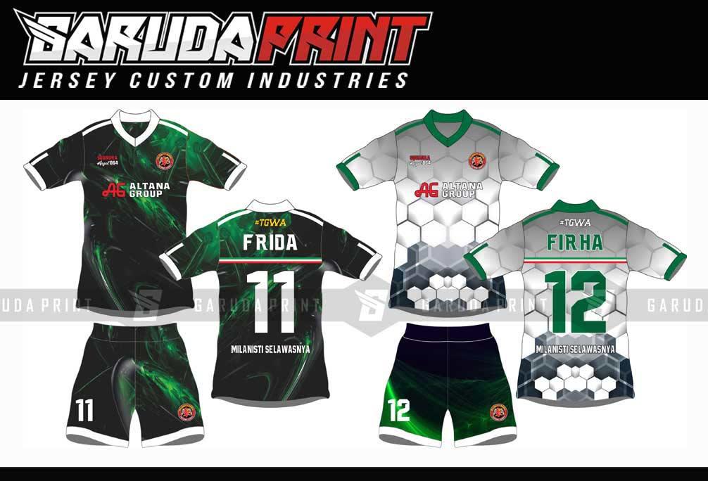 Bikin Kaos Futsal Online Berkualitas di Balangan-Paringin desain custom