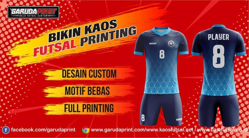 Buat Kaos Futsal Cara Online Di Vendor Terpercaya