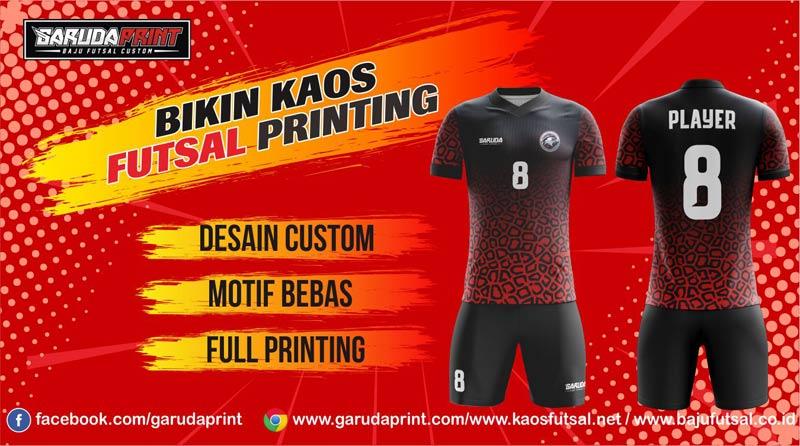 Buat Kaos Jersey Futsal Printing di Boyolali