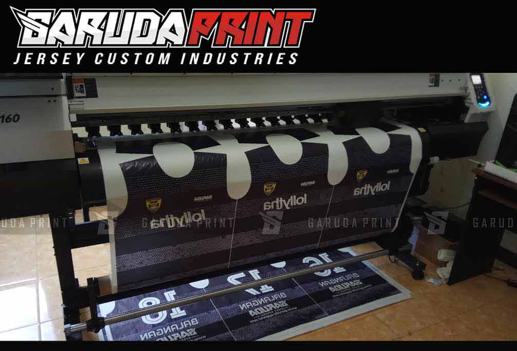 Melayani Pembuatan Jersey Full Printing Desain Unik di Palangka Raya