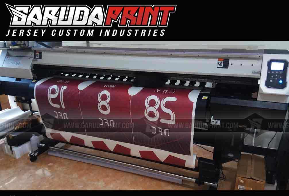 Buat kaos futsal printing desain sendiri di Garuda Print