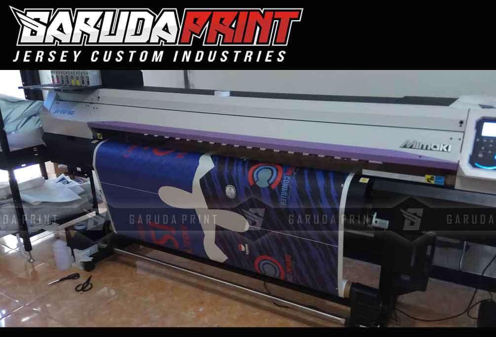 Jasa Bikin Kaos Futsal Online Printing di Kotabaru