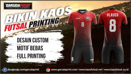 Jasa Bikin Kaos Futsal Printing ONLINE
