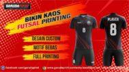 Jasa Pembuatan Kaos Futsal Full Printing di Jeneponto Berbagai Motif