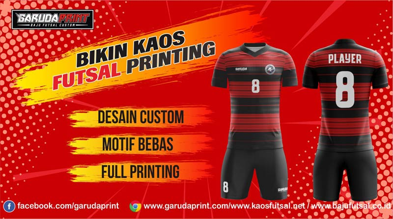 Jasa Pembuatan Kaos Futsal Printing Area Batam Secara Online