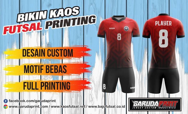Jasa Pembuatan Kaos Futsal Printing di Bone Berkualitas Tinggi