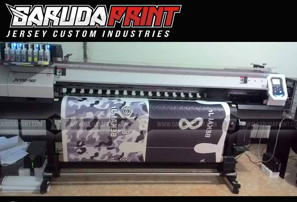 Jasa Pembuatan Kaos Futsal Printing di Ternate