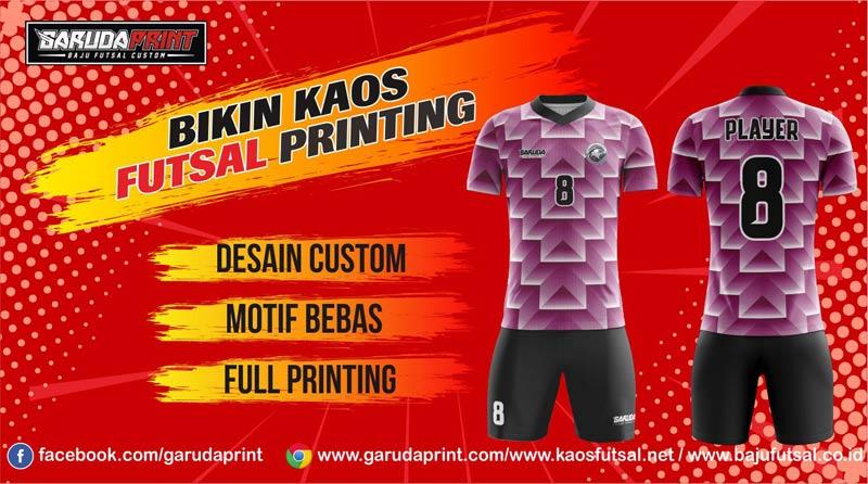 Jasa Pembuatan Kaos Futsal di Kota Wonosobo ASRI