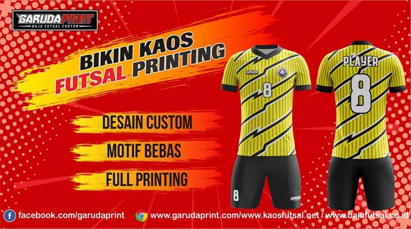 Jasa Pembuatan Kaos Futsal di Purworejo Harga Bersaing