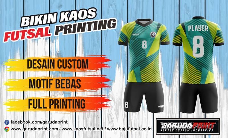Jasa Pembuatan Kaos Sepak Bola printing