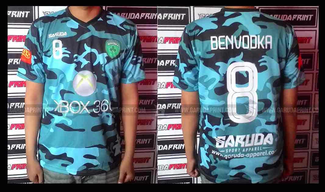 Jasa Pemesanan Bikin Kaos Futsal full print di Sumedang