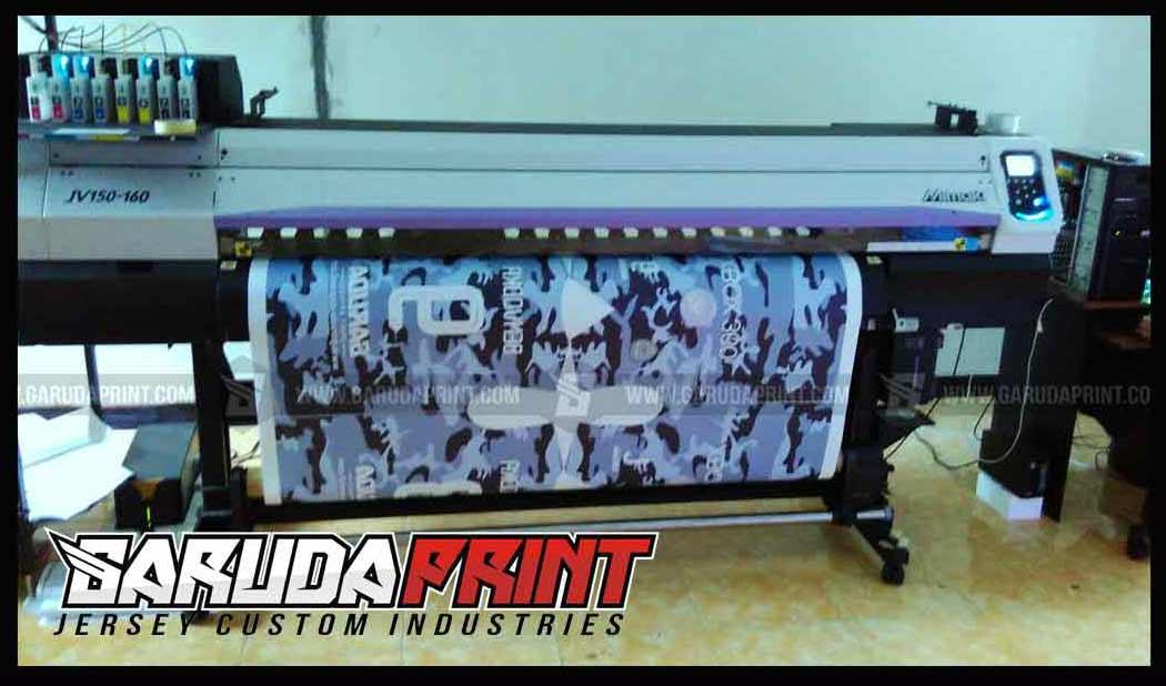 Jasa Pemesanan Bikin Kaos Futsal printing di Sumedang