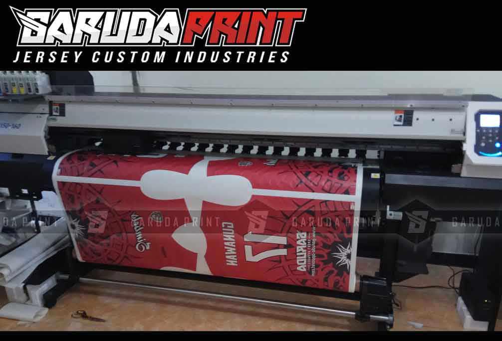 Jasa Produksi Kaos Futsal printing Berkualitas di Jakarta Pusat
