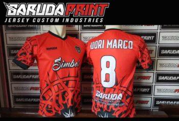 Jasa Produksi Kaos Futsal Berkualitas di Jakarta Pusat