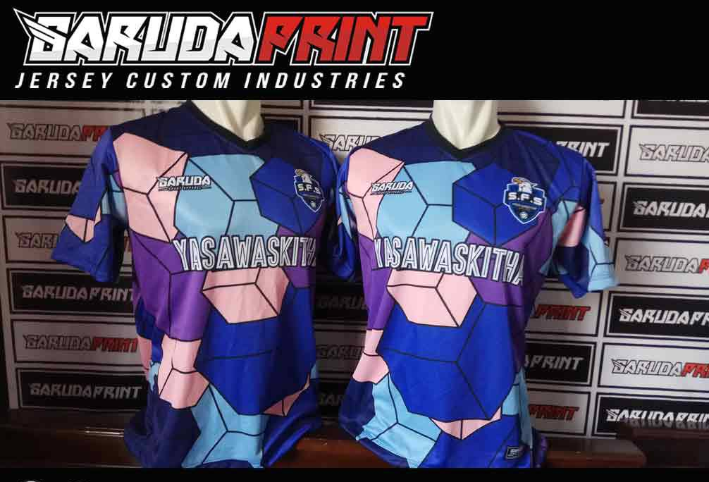 Jasa buat Kaos Futsal Printing di Rembang