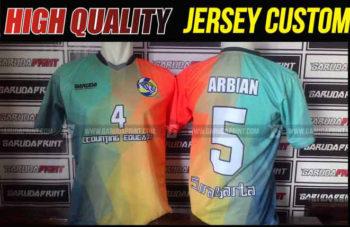 Variasi Buat Kaos Futsal Tanpa Sponsor : Menempatkan Nomor Pada Bagian Depan