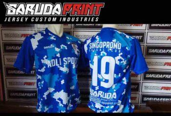 Konveksi Online Kaos Futsal Full Printing di Pamekasan untuk Olahraga