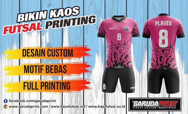 Konveksi Terbaik Bikin Kaos Futsal Full Printing di Purbolinggo