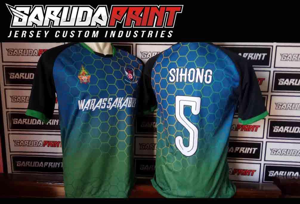 Konveksi bikin Kaos Futsal Printing di Gresik Kualitas Terbaik