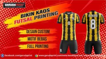 Melayani Pembuatan Kaos Futsal Berkualitas di Kapuas-Kuala Kapuas