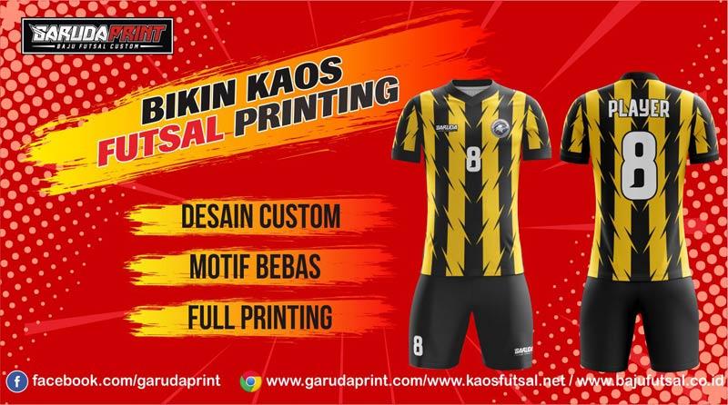 Melayani Pembuatan Kaos Futsal Berkualitas di Kapuas - Kuala Kapuas