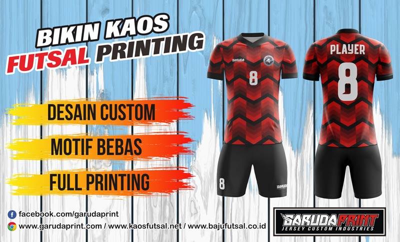 Melayani Pembuatan Kaos Futsal Printing Di Tasikmalaya - Singaparna