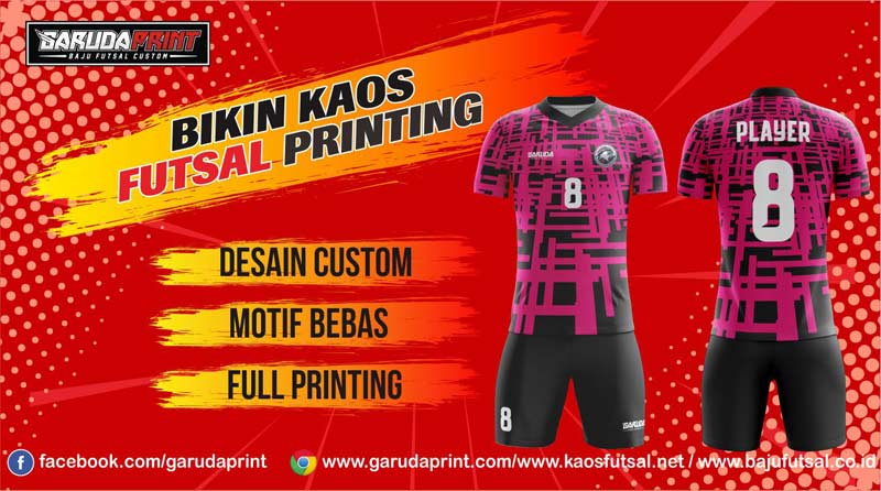Melayani Pembuatan Kaos Futsal Sesuai Kebutuhan di Banjar