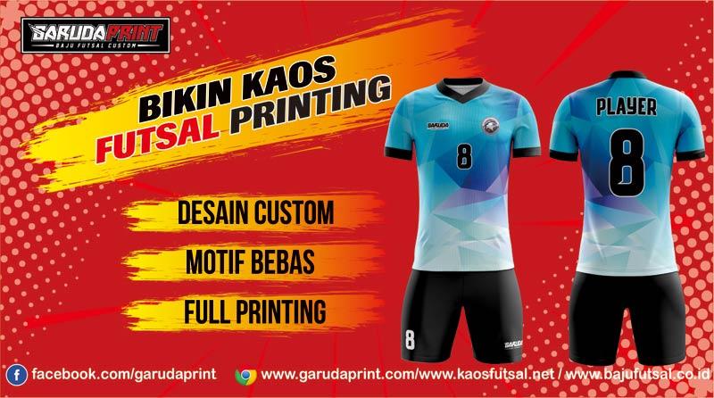 Melayani Pemesanan Bikin Kaos Futsal Full Printing Wilayah Aceh