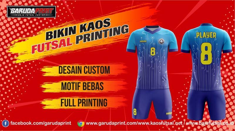 Melayani Pemesanan Kaos Futsal Printing di Bekasi-Cikarang