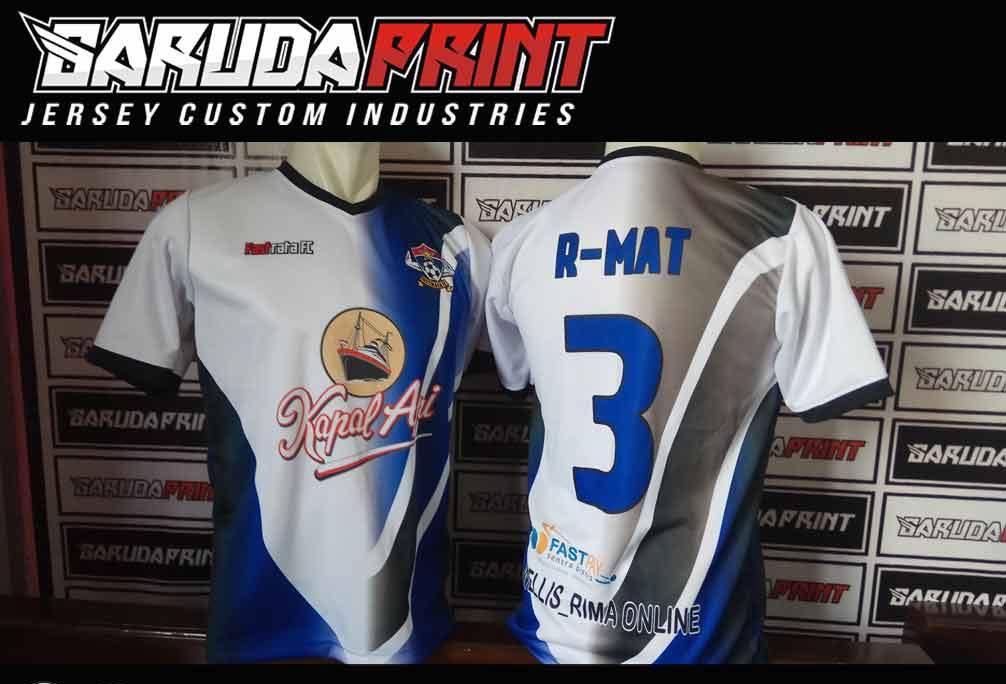 Melayani Pemesanan Pembuatan Kaos Futsal di Kota Bekasi harga murah