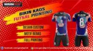 Menerima Pembuatan Kaos Futsal Berkualitas di Kendari Printing
