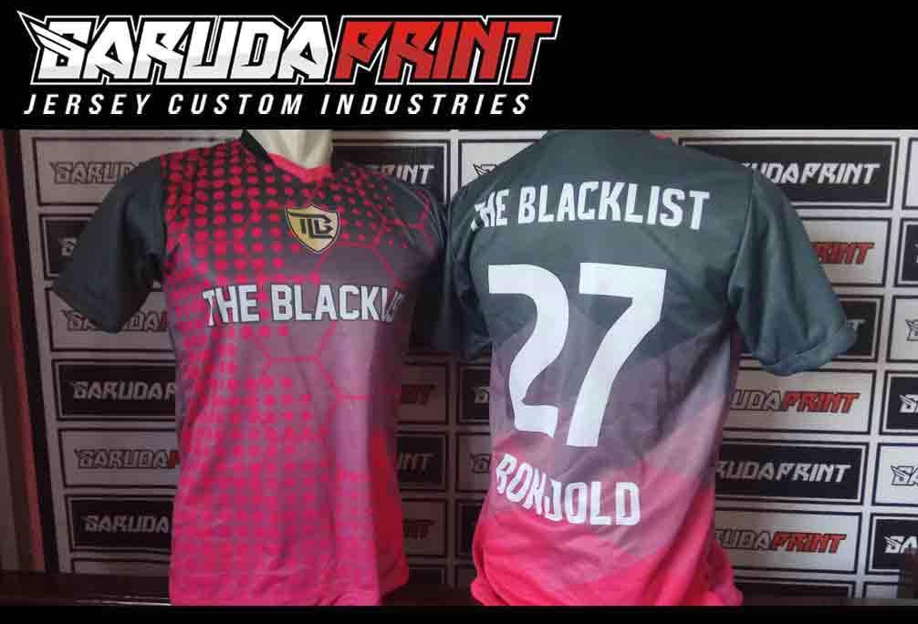 Pembuatan Kaos Futsal Berkualitas di Kendari Printing