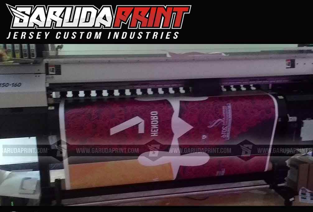 Pembuatan Kaos Futsal Full Printing Area Trenggalek