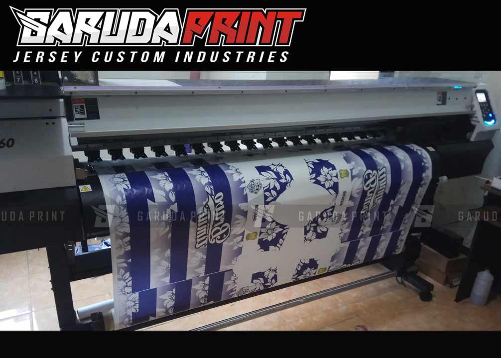 Pembuatan Kaos Futsal Full Printing Berkualitas di Barito
