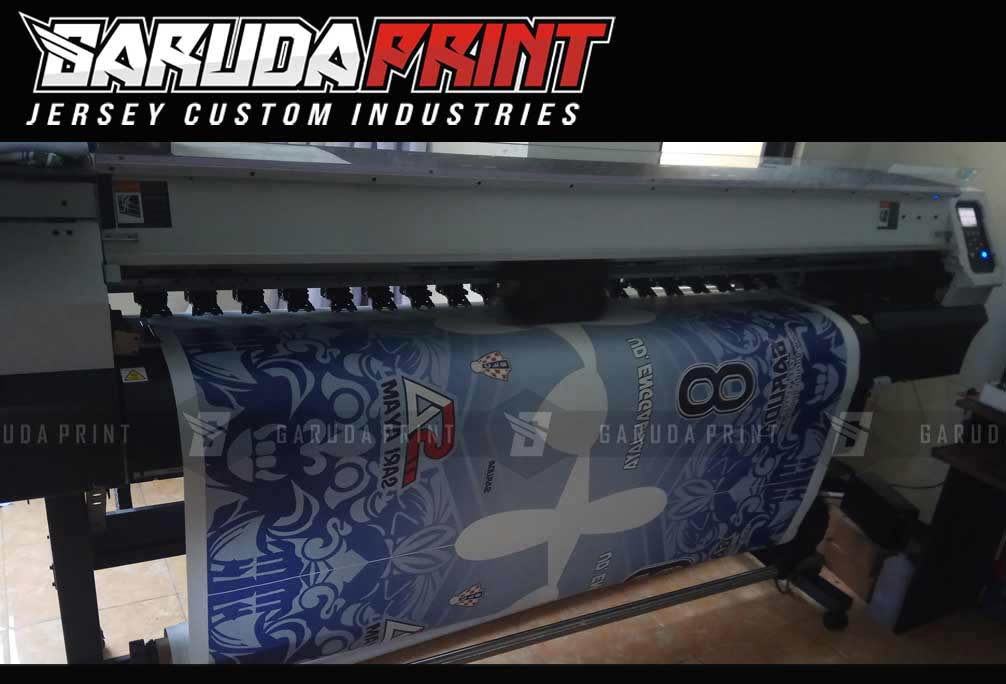 Pembuatan Kaos Futsal Full Printing di Denpasar Bali Pulau Dewata
