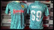 Buat Kaos Bola / Futsal Batik Printing