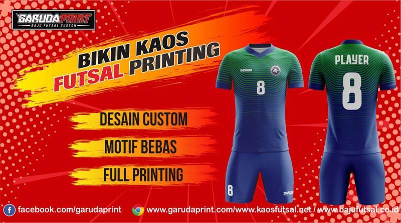 Pembuatan Kaos Futsal Printing di Panajam Paser Utara