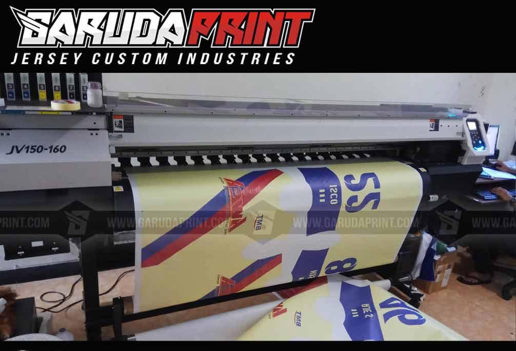 Pembuatan Kaos Futsal di Kutai Kartanegara-Tenggarong