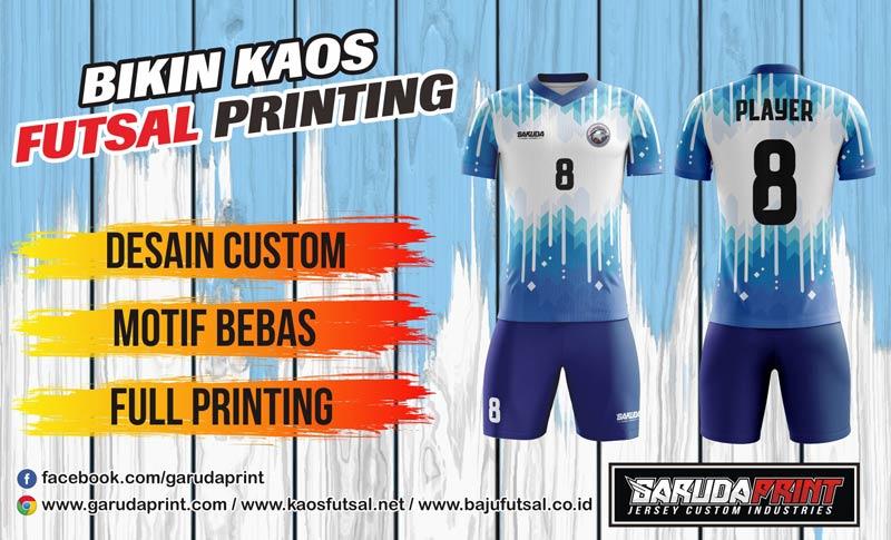 Pembuatan Kaos Futsal printing Berkualitas Tinggi di Singkawang