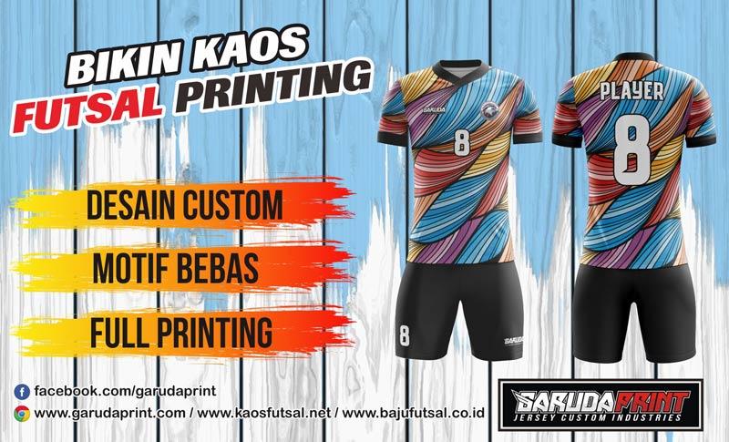 Pembuatan Kaos Futsal priting Terbaik di Jakarta Timur