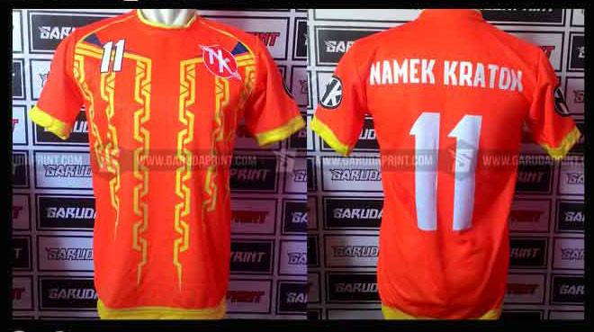Pembuatan Kaos jersey Futsal Printing Untuk Area Samarinda