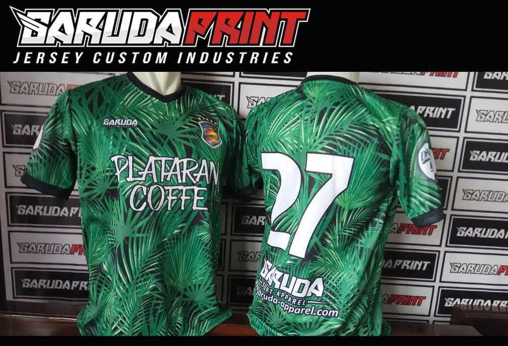 Pembuatan & Pemesanan Kaos Futsal printing di Pontianak