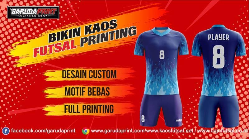 Pemesanan Kaos Futsal Full Printing Area Cirebon