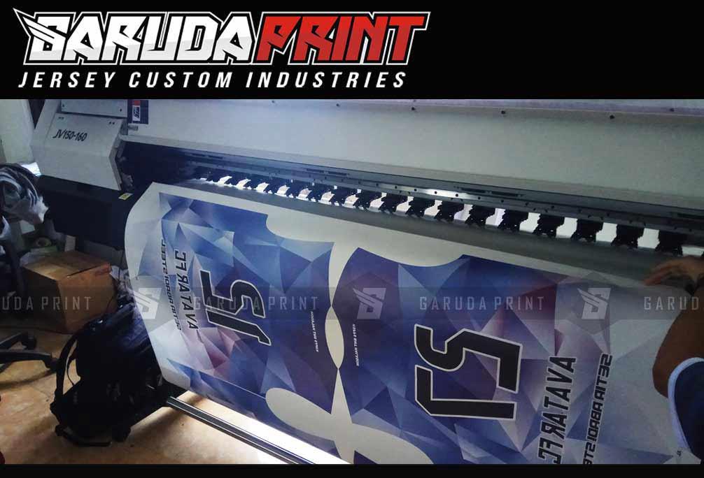 Pemesanan Kaos Futsal Full Printing di Garut-Tarogong Kidul