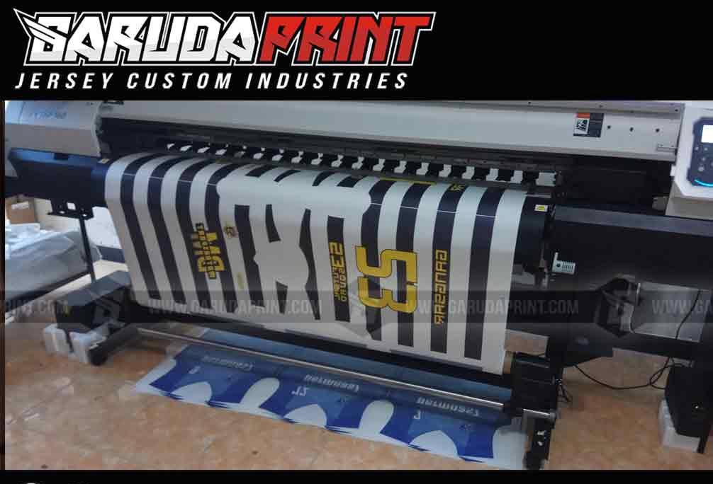 Pemesanan Kaos Futsal Full Printing di Majalengka