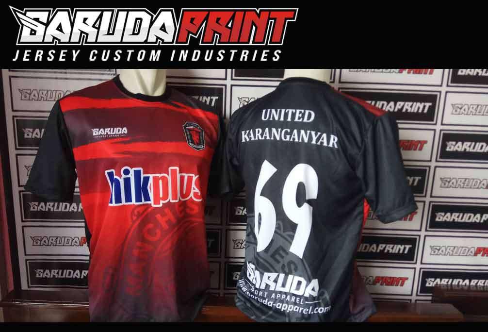 Pesan order Bikin Kaos Futsal Printing di Daerah Karanganyar
