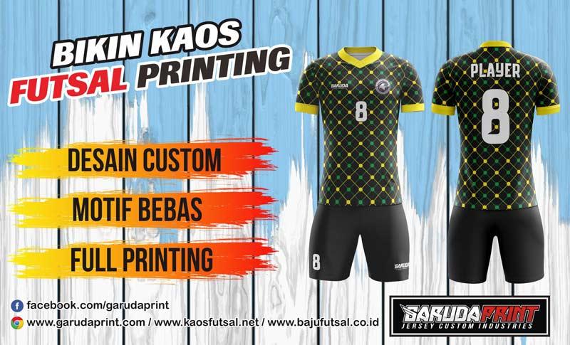 Produsen Bikin Kaos Futsal Full Printing di Pacitan Jawa Timur