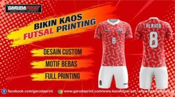 Pusat Bikin Kaos Futsal Online Printing di Kotabaru