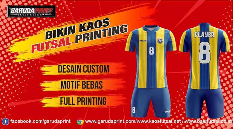 Pusat Bikin Kaos Futsal Secara Online di Banjarmasin